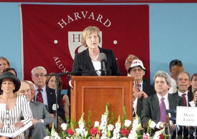 Drew Faust-Harvard