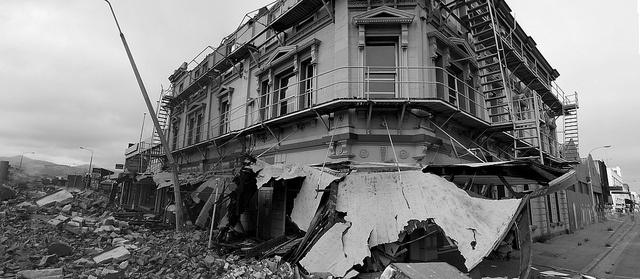 Christchurch, New Zealand earthquake