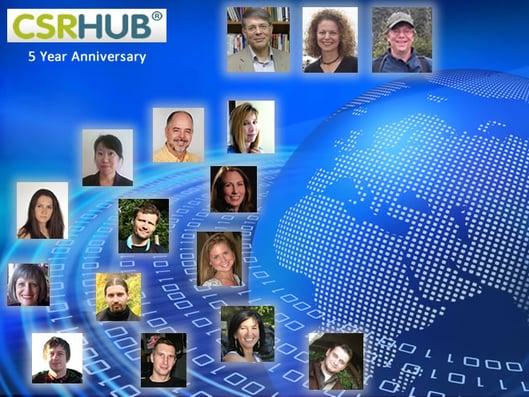 CSRHub 5 year anniversary