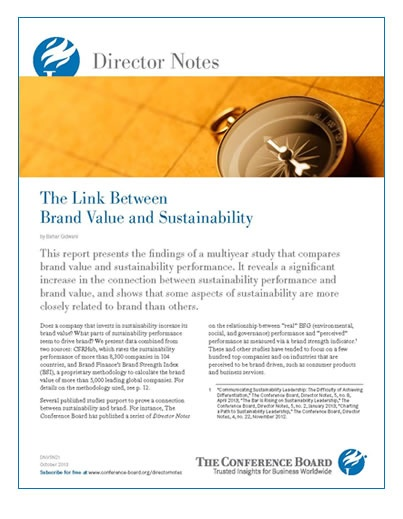 The Conference Board Directors Note