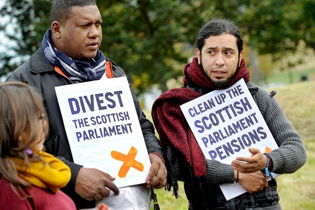 Divest Scottish Parliament