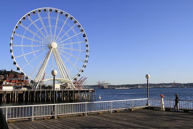 Seattle warm summer