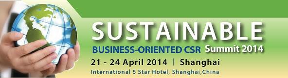 Sustainable Business-Oriented CSR Summit 2014