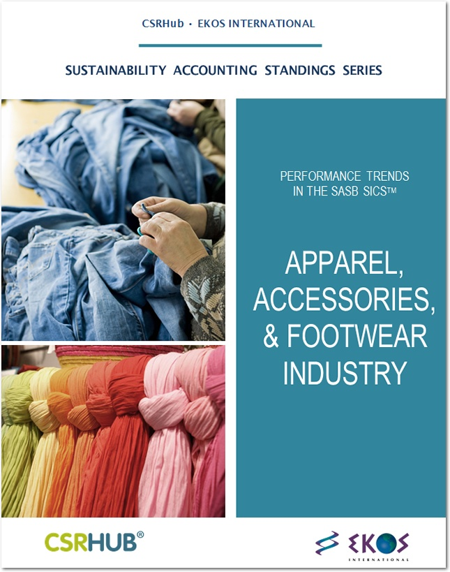 CSRHub SASB Apparel Report