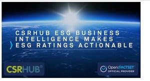 CSRHub ESG Business Intelligence